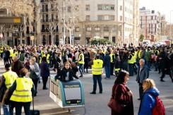 La multitud congregada en Verdaguer